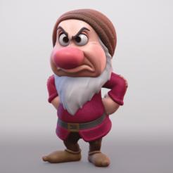 Télécharger fichier imprimante 3D Grincheux Disney, MarProZ