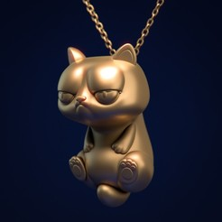 Download free 3D printing designs JewelCat, MarProZ_3D