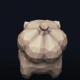 11.png Télécharger fichier OBJ Pokemon Bulbasaur LowPoly • Modèle pour impression 3D, MarProZ_3D