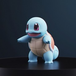 Schiggy_1.jpg Download free STL file Pokemon - Squirtle • 3D print object, MarProZ_3D