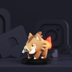 00_GiveawayWinner_02.png Download free STL file Baboink - Fakemon • 3D printable design, MarProZ_3D