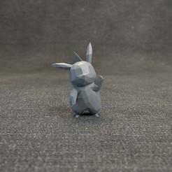 Descargar modelo 3D Pokemon Pikachu LowPoly, MarProZ_3D