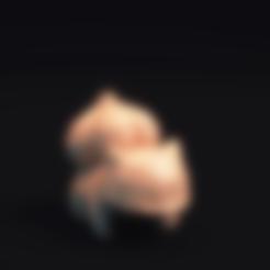 Télécharger fichier STL gratuit Pokemon Bulbasaur LowPoly, MarProZ