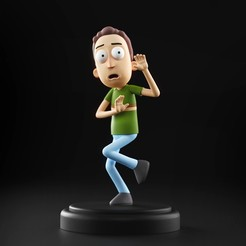 Jerry_01.jpg Download STL file Rick and Morty - Jerry Smith • 3D print design, MarProZ_3D