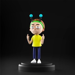 Download STL file Rick and Morty - Morty, MarProZ_3D