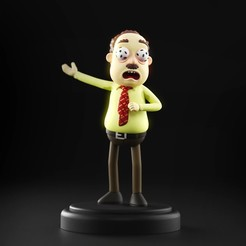 AntsinMyEyes_01.jpg Download STL file Rick and Morty - Ants in my Eyes Johnson • 3D printing template, MarProZ_3D