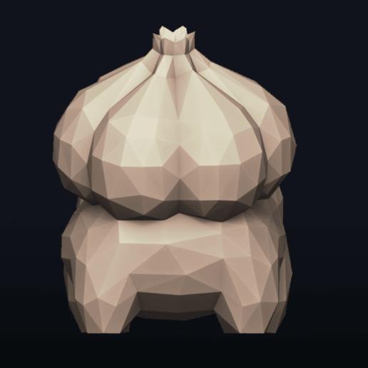 04.png Télécharger fichier OBJ Pokemon Bulbasaur LowPoly • Modèle pour impression 3D, MarProZ_3D