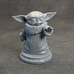 Descargar diseños 3D Baby Yoda LowPoly - Star Wars El Mandaloriano, MarProZ_3D