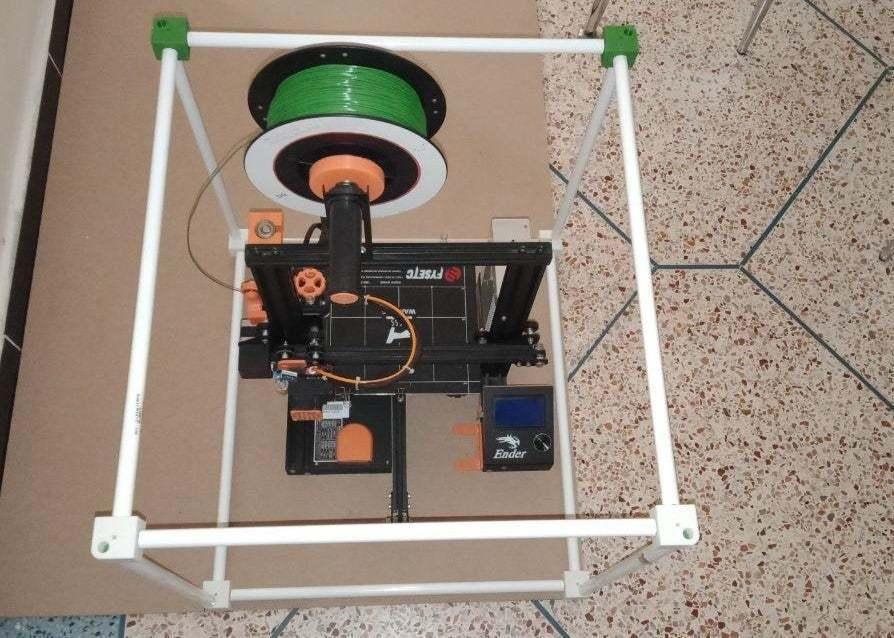 photo_2020-01-25_16-48-45.jpg Download free STL file CREALITY 3D Printer Enclosure • Model to 3D print, Uavmax