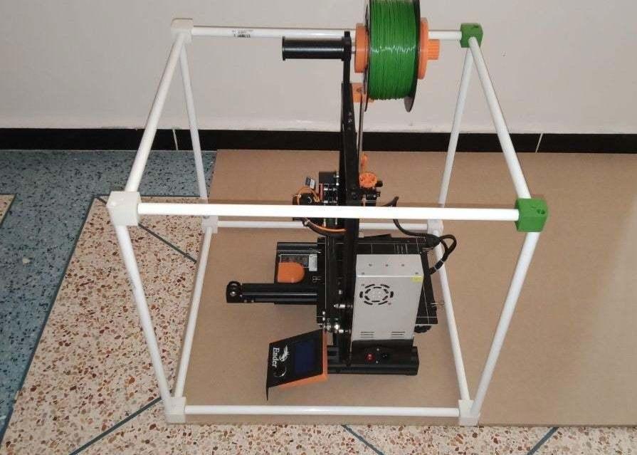 photo_2020-01-25_17-13-59.jpg Download free STL file CREALITY 3D Printer Enclosure • Model to 3D print, Uavmax