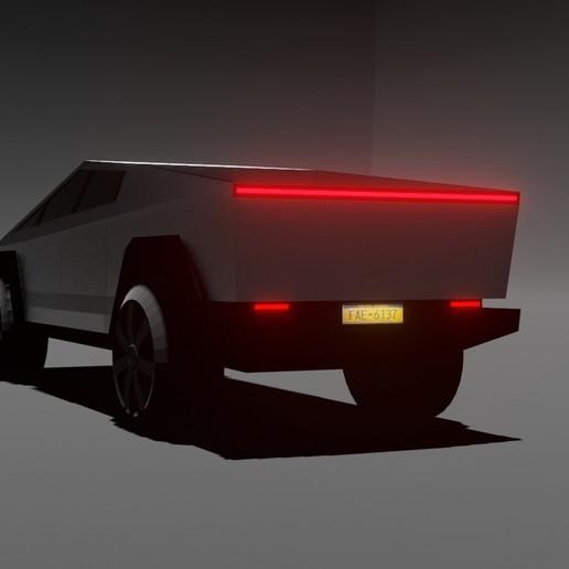 Descargar archivos 3D Camión cibernético Tesla, aminebidoud