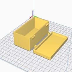 Descargar STL gratis Pecho / Caja con mecanismo simple, chanutthomas
