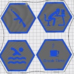 Capture d'écran 2020-09-13 222419.jpg Download free STL file Hex Tile Others • Model to 3D print, chanutthomas