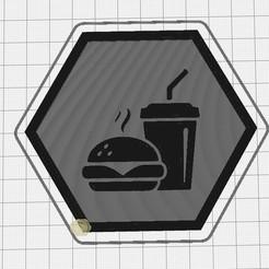 Capture d'écran 2020-09-12 115013.jpg Download free STL file Hex Tile Food • 3D printing design, chanutthomas
