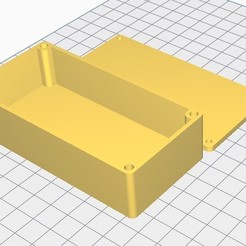Descargar Modelos 3D para imprimir gratis Caja reciclable a través de insertos M3, chanutthomas