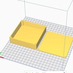 Descargar archivos 3D gratis La caja cuadrada se puede volver a cerrar mediante insertos M3 (grandes), chanutthomas