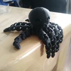 Télécharger fichier STL gratuit Jolie pieuvre miniature • Modèle pour imprimante 3D, chanutthomas