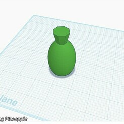 The Pineapple.jpg Télécharger fichier STL gratuit L'ananas, une peinture puissante • Modèle pour imprimante 3D, quirkymojo