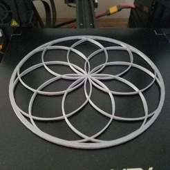 container_flower-of-life-3d-printing-290609.jpg Download free STL file Flower of Life • Model to 3D print, quirkymojo