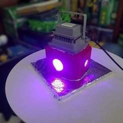 Curing_On.jpg Télécharger fichier STL gratuit Boîte de séchage UV • Design imprimable en 3D, quirkymojo