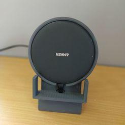 IMG-20200611-WA0001.jpg Download free STL file Anker Wireless Charger Stand • 3D print design, morinrem