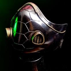 viper mask.jpg Download STL file Viper Mask from Valorant • 3D print design, BrandonMaker