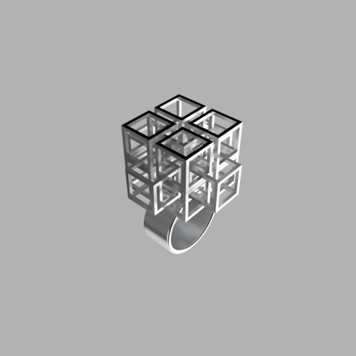 frame.2.png Download free STL file Falling Geometric Ring  • Model to 3D print, RavenSfx