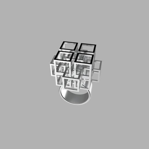 frame.0.png Download free STL file Falling Geometric Ring  • Model to 3D print, RavenSfx