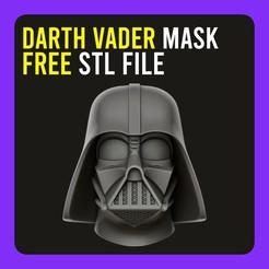Descargar modelos 3D gratis ▷ Máscara de Darth Vader, gersith