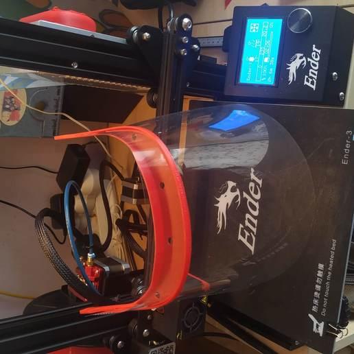 Télécharger objet 3D gratuit Visière de protection, sergiosaura