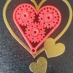 Télécharger plan imprimante 3D gatuit Porte-clés de coeur, sergiosaura