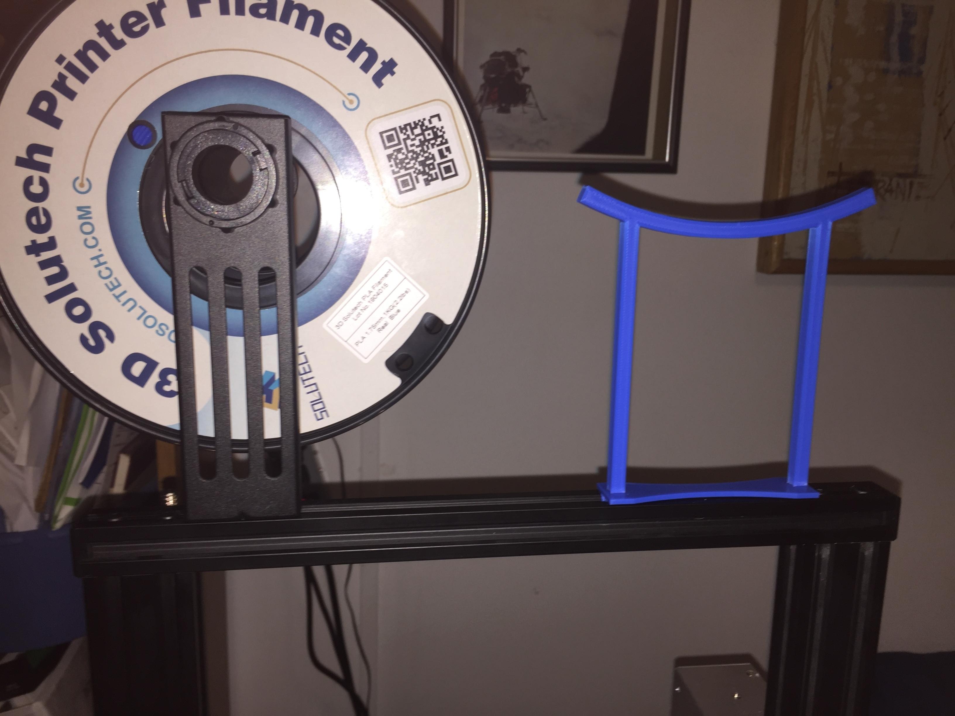 IMG_1637.JPG Download free STL file Creality Ender 3 (v-slot) Rag Holder • 3D printer object, greaseandmetal