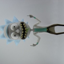 Download 3D printing models Rick Sanchez from Rick and Morty., hadrianus