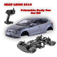 Download 3D printer model SEAT LEON MK3 (2015) 𝐏𝐑𝐈𝐍𝐓𝐀𝐁𝐋𝐄 𝐁𝐎𝐃𝐘 𝐂𝐀𝐑 (Perfect for RC), OWLPerformance