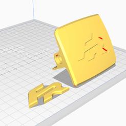 Cura FR.png Download STL file 𝙏𝙧𝙪𝙣𝙠 𝙃𝙖𝙣𝙙𝙡𝙚 𝙁𝙍 (Trunk handle FR) • 3D print model, OWLPerformance