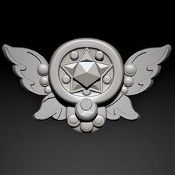 1.jpg Télécharger fichier STL Symbole 3D de la lune des marins • Modèle imprimable en 3D, Nayibe