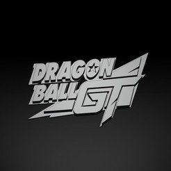Gt2.jpg Download STL file 3D Logo Dragon ball GT • 3D printing object, Nayibe