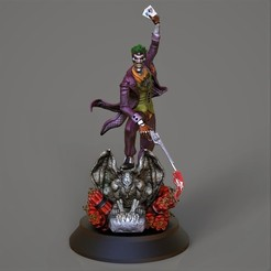 Download 3D printer model The Joker, Nayibe