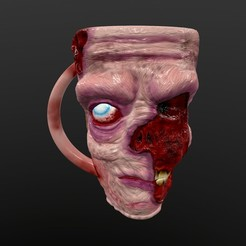 screenshot009.jpg Download STL file Zombie Mug • 3D printable model, Nayibe
