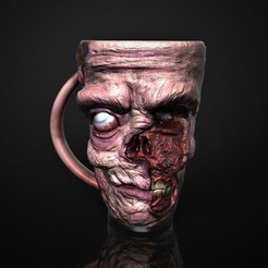 Download STL file Zombie Mug, Nayibe