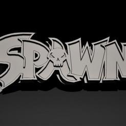 spawn logo2.jpg Télécharger fichier STL Création d'un logo en 3D • Design pour imprimante 3D, Nayibe