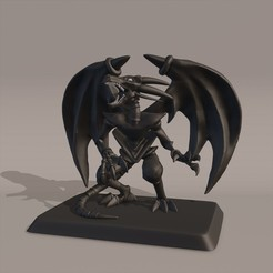 Render1.1.jpg Download STL file Yugioh Black Red-Eyed Dragon • Model to 3D print, Nayibe