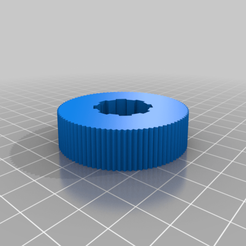 ff-knob_20191124-50-129y86a.png Télécharger fichier STL gratuit Bouton de mise au point fine 50 mm personnalisé pour le télescope Celestron NexStar Evolution • Design pour impression 3D, ScotteBeMeUp