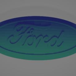 Descargar Modelos 3D para imprimir gratis Insignia de Ford Grill, nikkblandford22