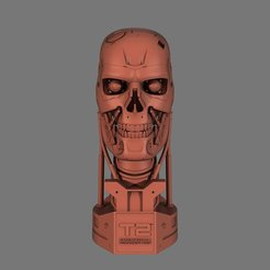 Download free 3D printing models Terminator 2 (Judgment Day) Bust, nikkblandford22