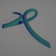Télécharger plan imprimante 3D gatuit Croix Infinity Swirl Argent - Diamant, nikkblandford22