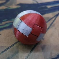 20200206_183002.jpg Download free STL file Puzzle esfera de 12 piezas • 3D print model, alexanderegido