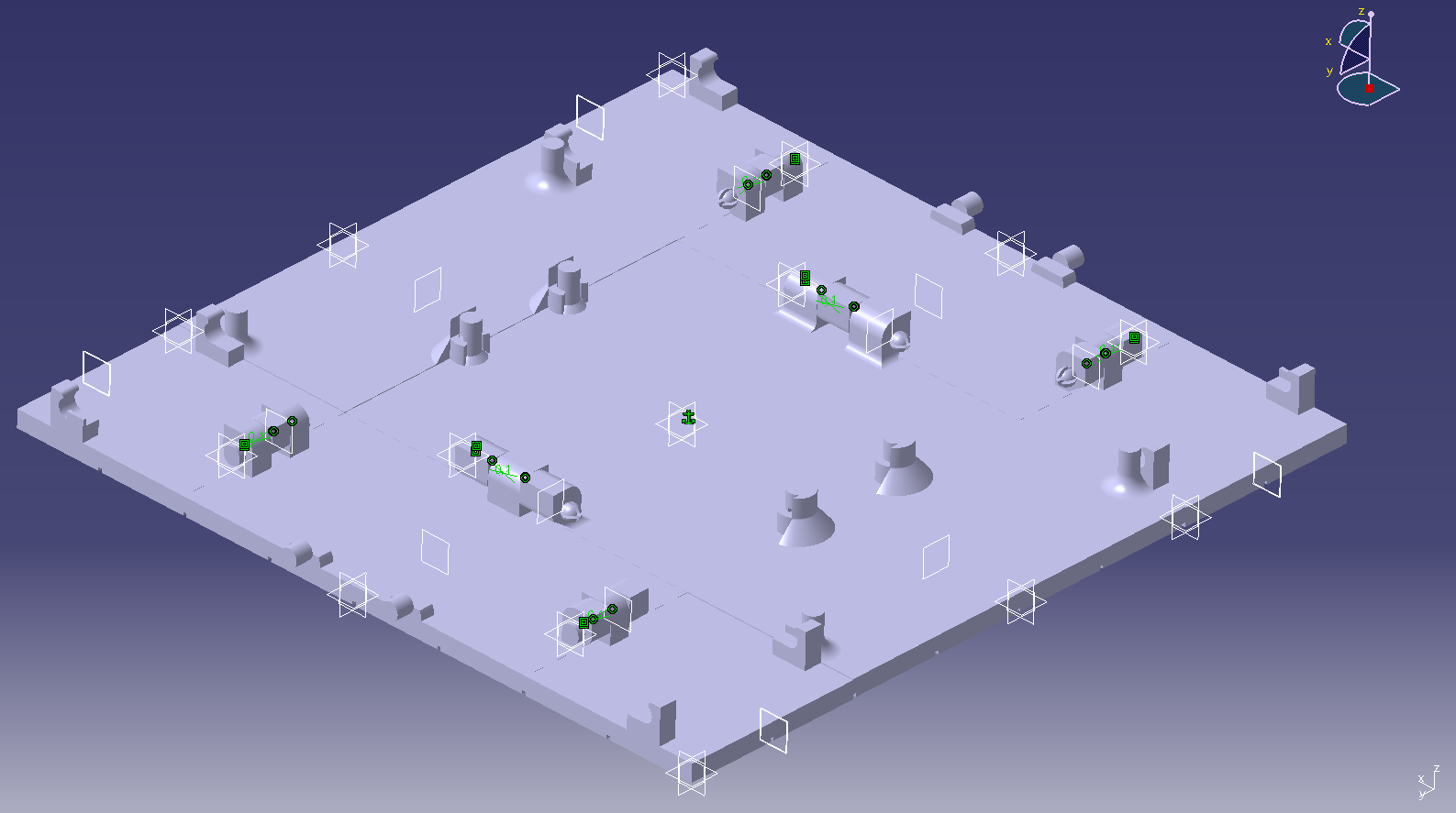 Tablero_abierto.png Download free STL file Tablero de ajedrez desplegable • 3D print object, alexanderegido