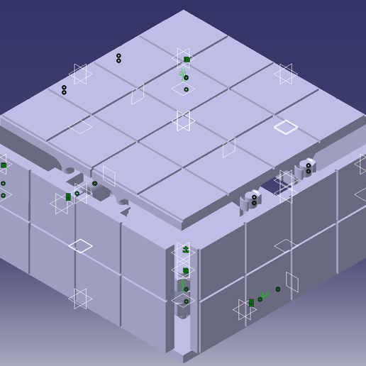 Tablero_cerrado.png Download free STL file Tablero de ajedrez desplegable • 3D print object, alexanderegido