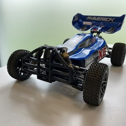 Descargar modelos 3D gratis Parachoques delantero - Maverick Strada XB, zgolone_pachy
